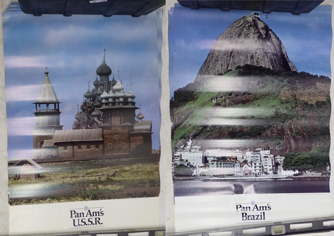 Grouping of Vintage Pan American Airways Posters - 8