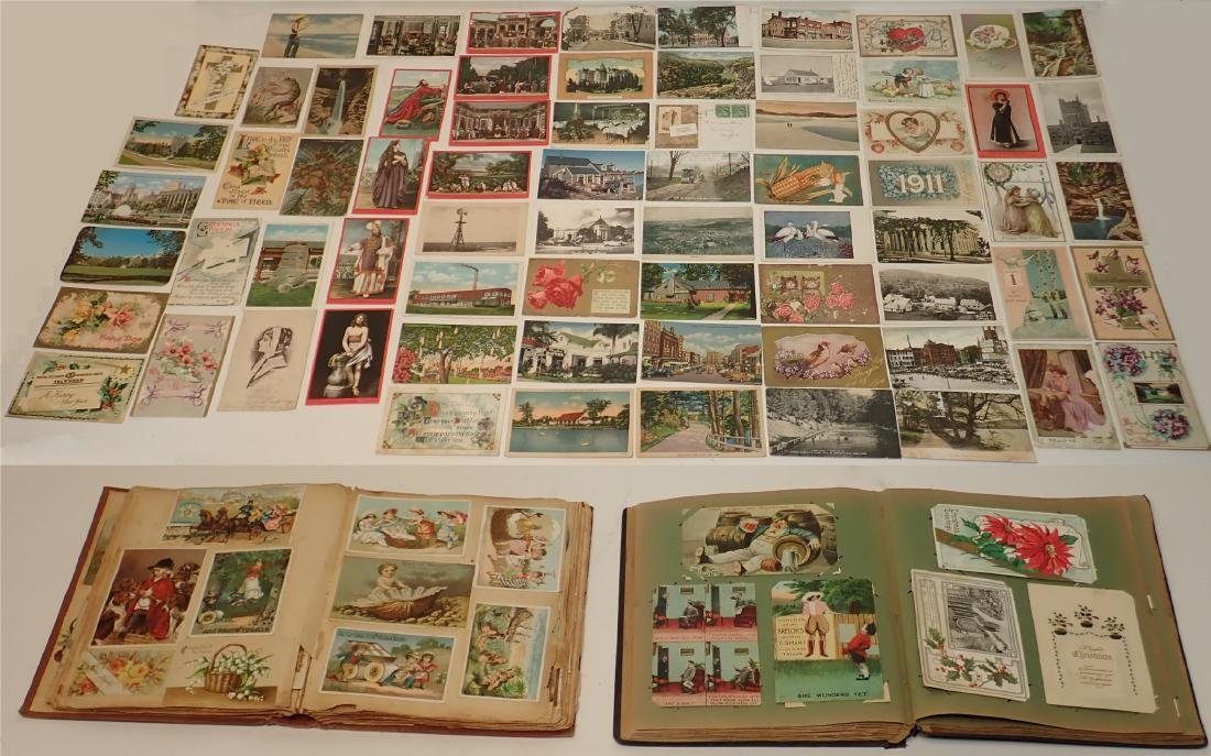Collection of Antique Postcards