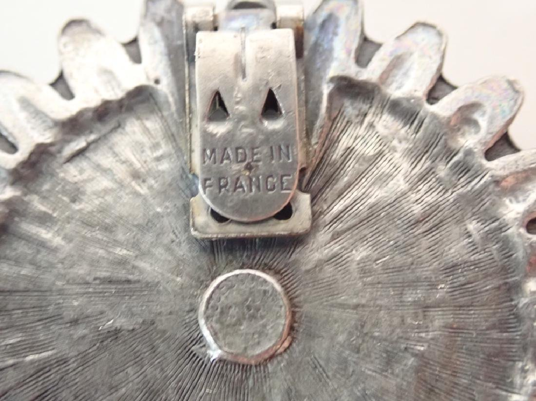 Antique & Vintage French Shoe Buckles - 10