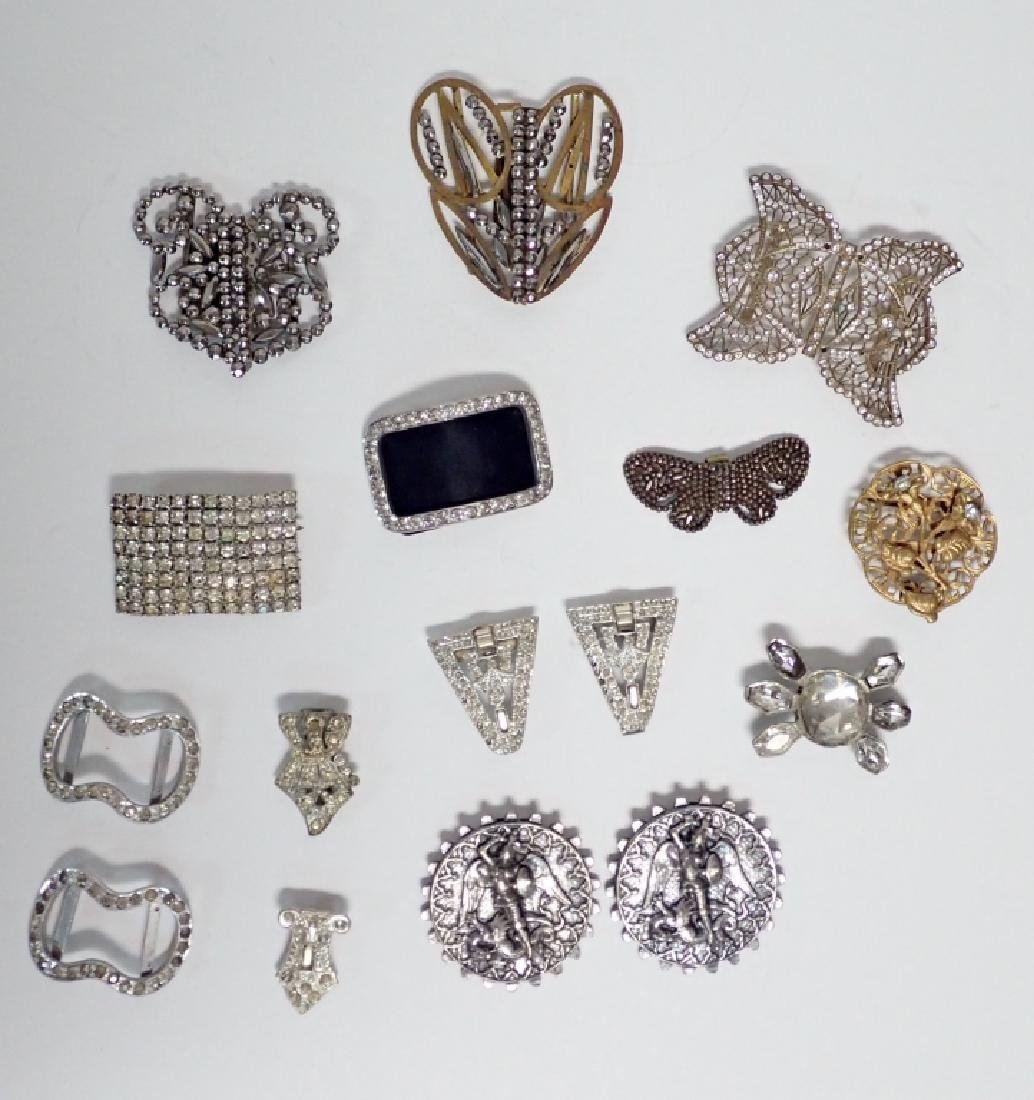 Antique & Vintage French Shoe Buckles
