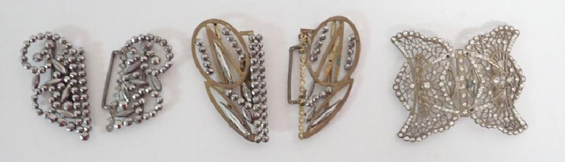 Antique & Vintage French Shoe Buckles - 2
