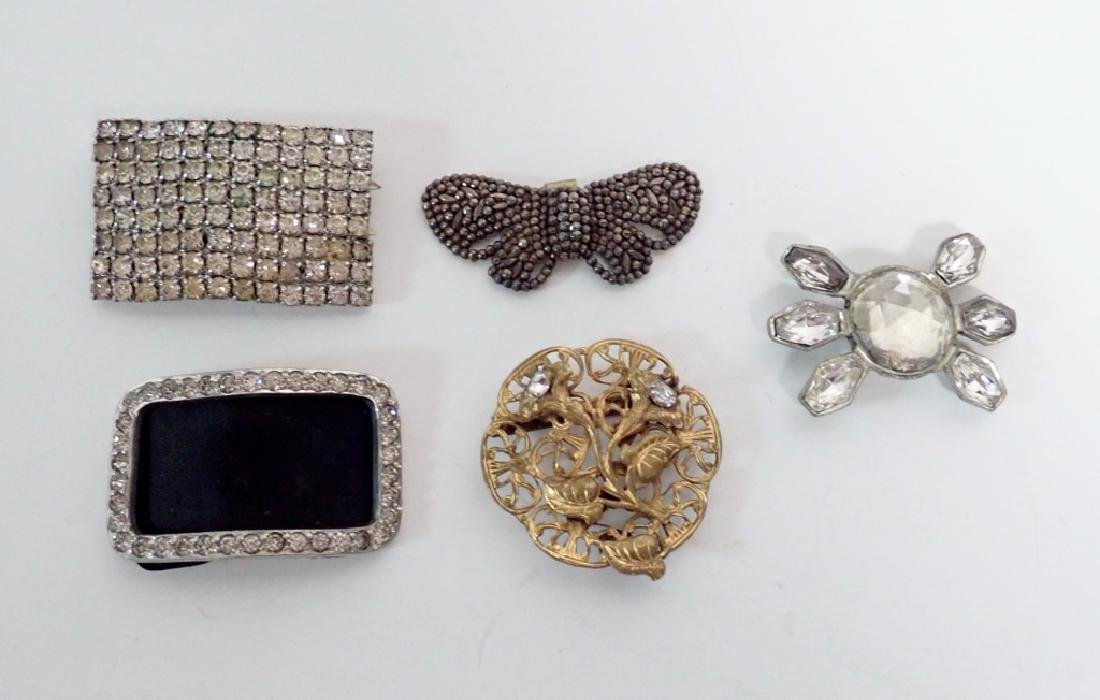Antique & Vintage French Shoe Buckles - 4