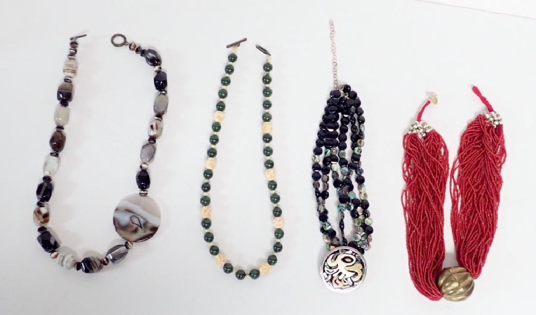 Beaded Statement Necklace Collection