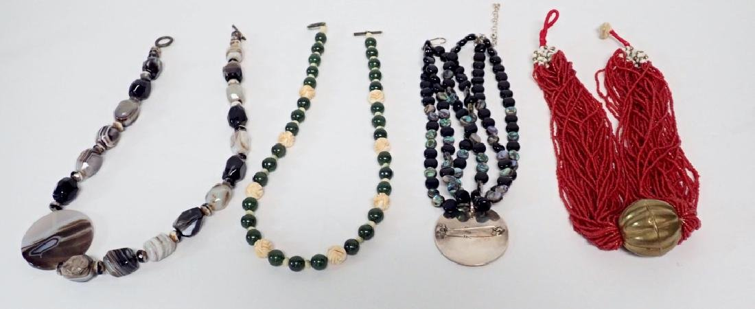Beaded Statement Necklace Collection - 2