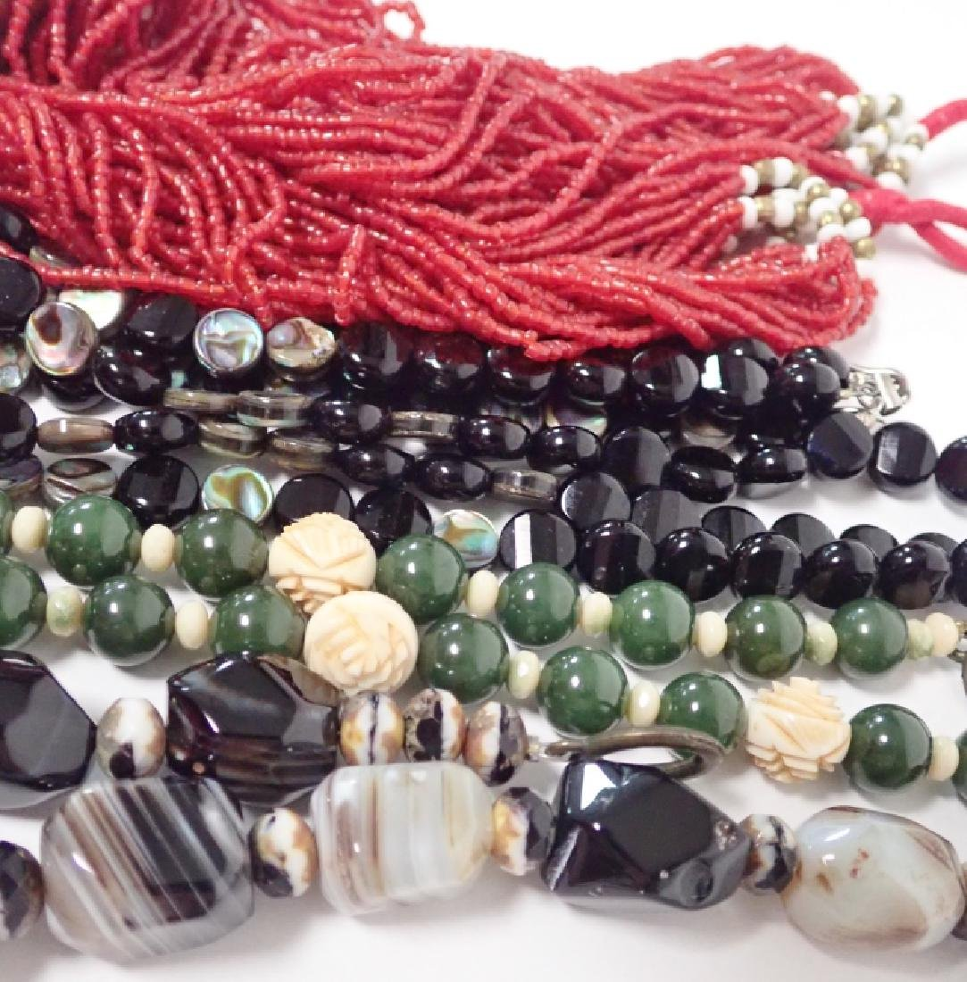 Beaded Statement Necklace Collection - 3