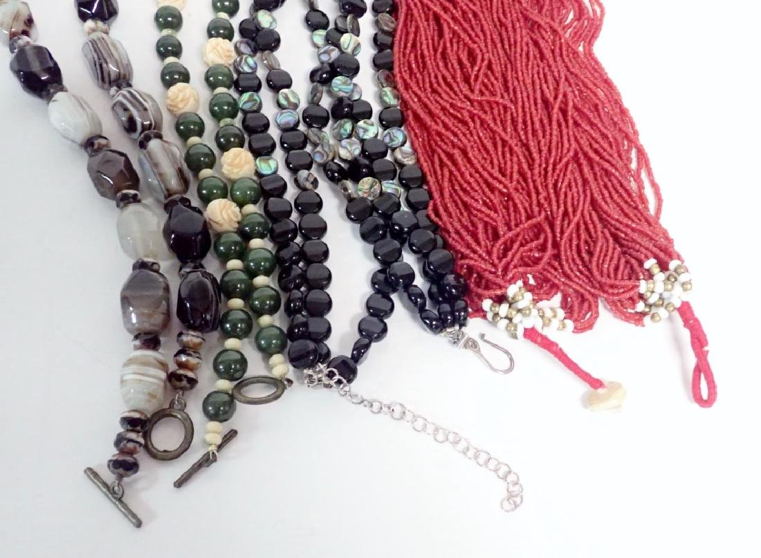 Beaded Statement Necklace Collection - 4