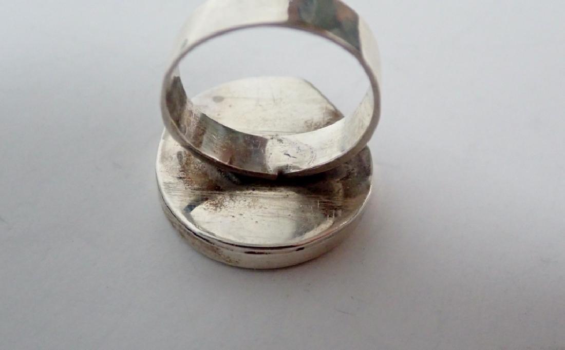 Black Onyx & Silver Jewelry Grouping - 6