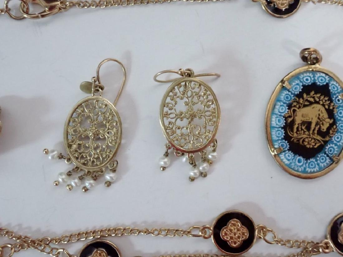 Assortment of Gold & Gold Tone Jewelry - 3