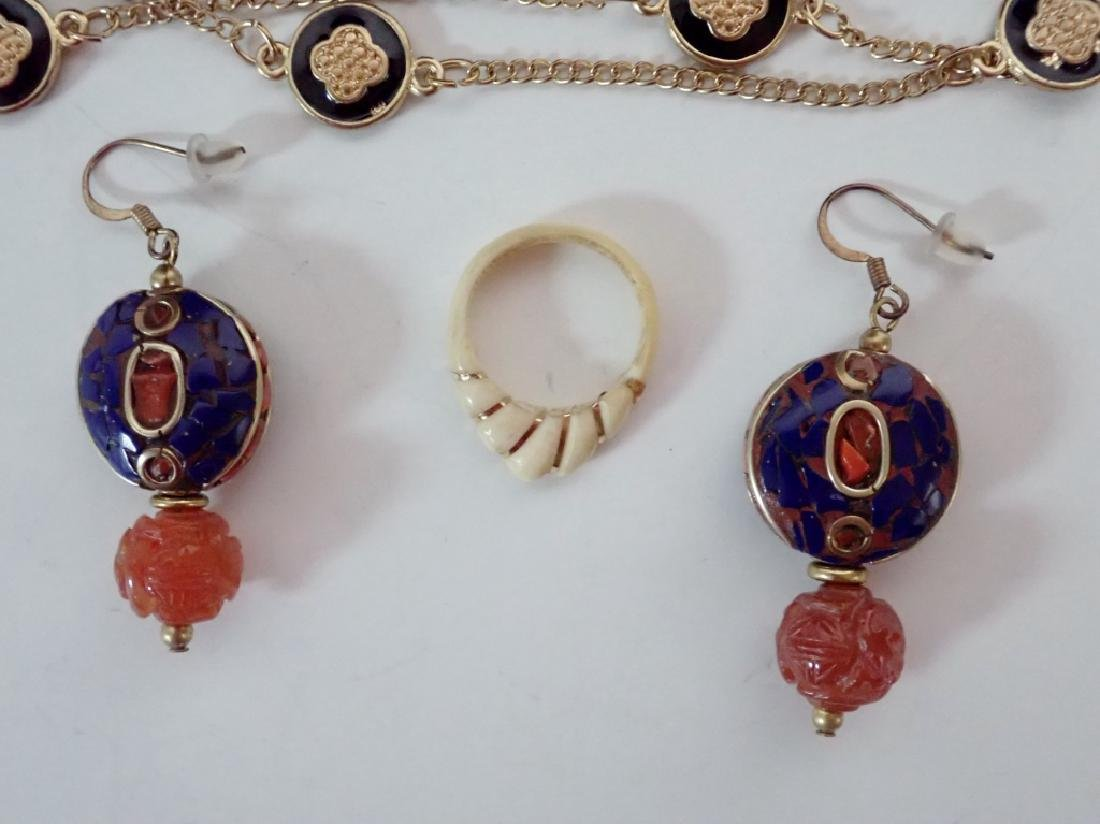 Assortment of Gold & Gold Tone Jewelry - 5