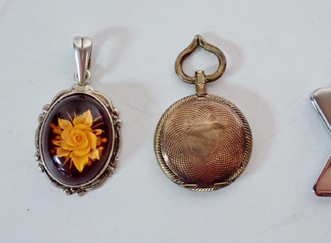 Four Assorted Vintage Pendants - 10