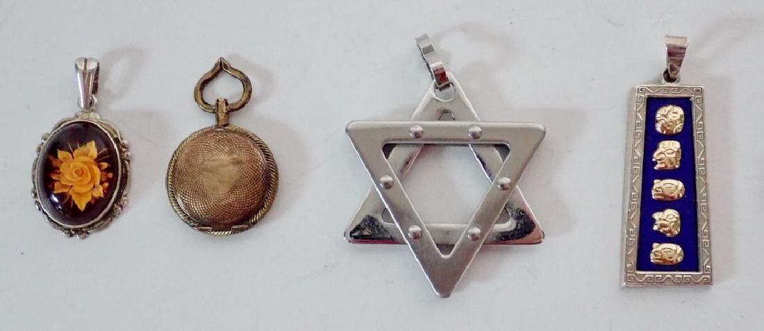 Four Assorted Vintage Pendants