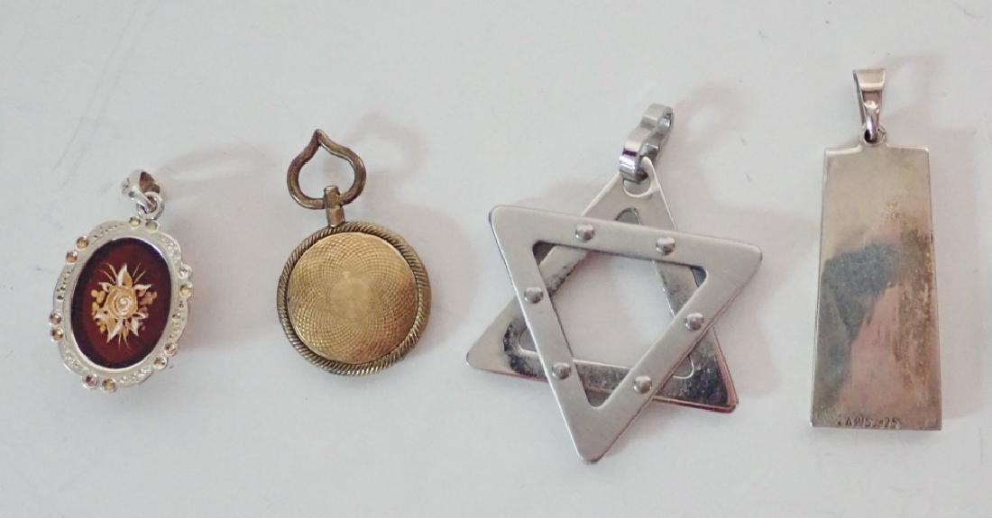 Four Assorted Vintage Pendants - 2