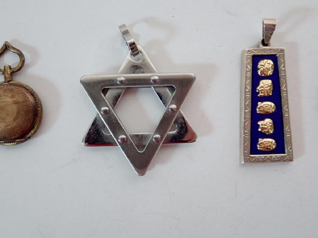 Four Assorted Vintage Pendants - 9