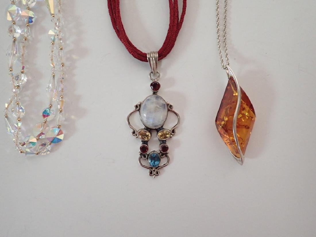 Collection of Three Statement Necklaces - 2