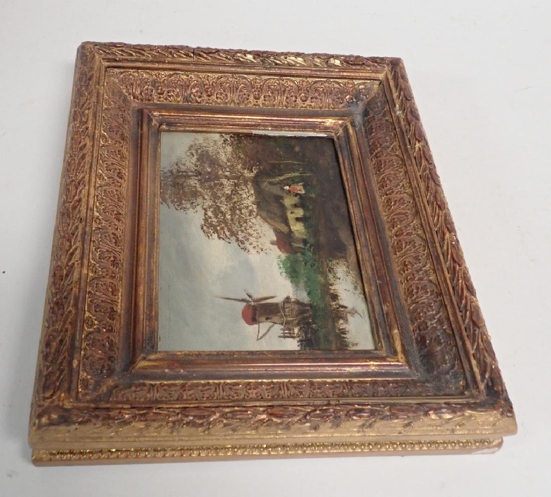 Continental Landscape Oil Painting - 9