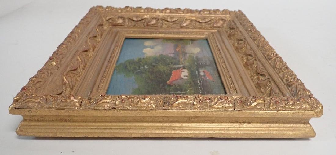 Landscape Oil Painting of Lake Scene - 10