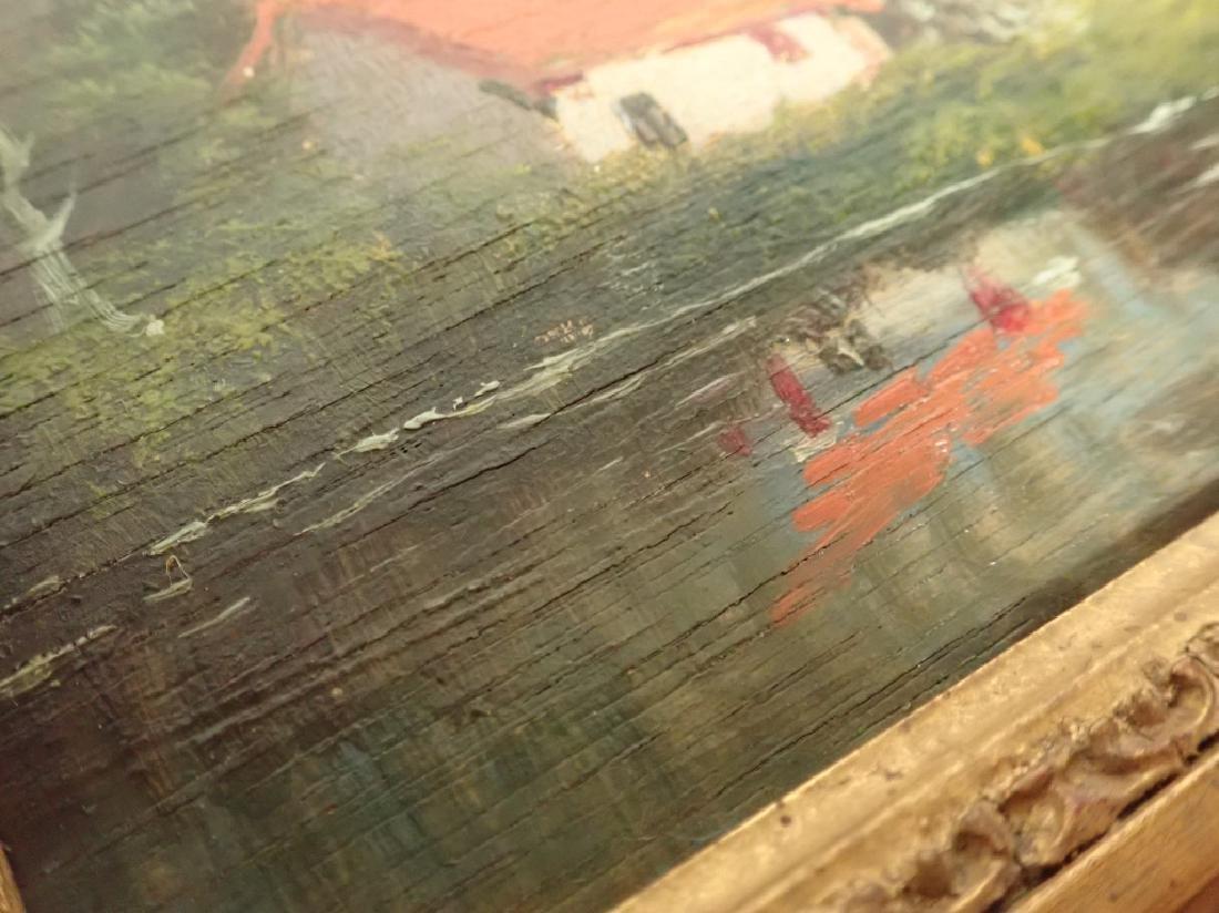 Landscape Oil Painting of Lake Scene - 3