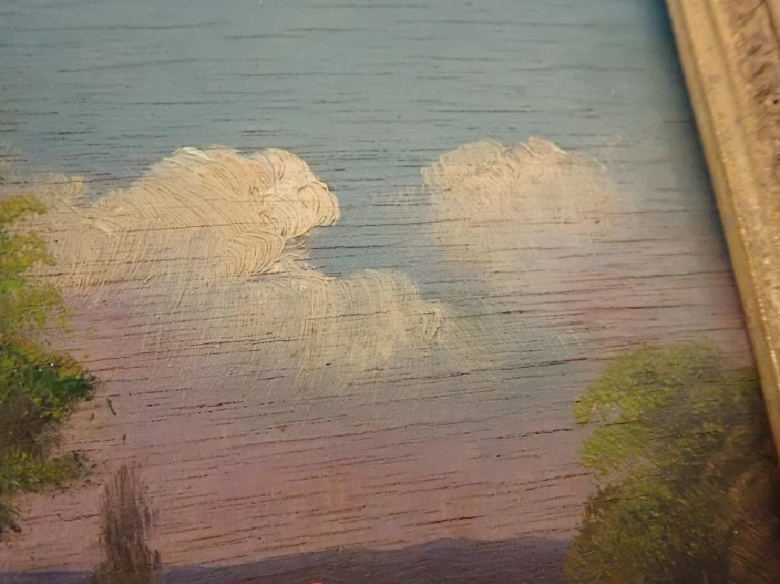Landscape Oil Painting of Lake Scene - 5