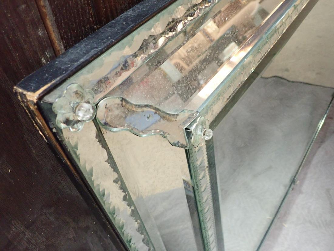 Large Vintage Venetian-Style Wall Mirror - 8