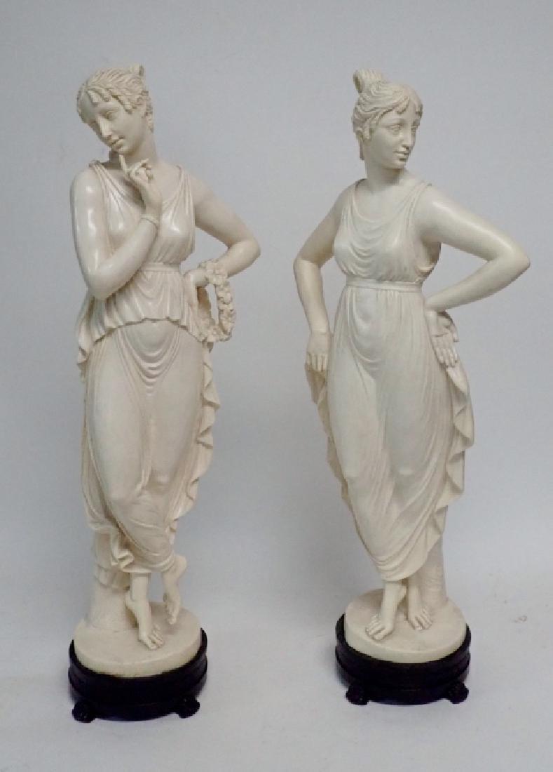 Antelma Santini, 1896, Italian Composition Pair