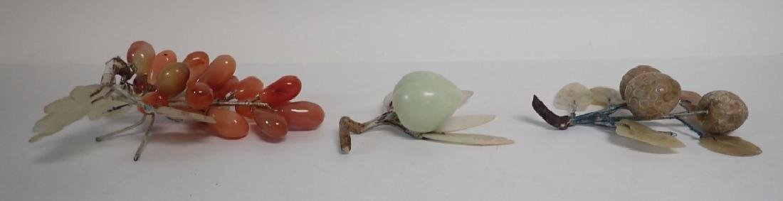 Natural Carved Stone Decorative Fruits - 2