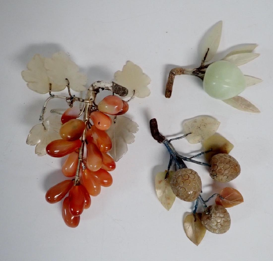 Natural Carved Stone Decorative Fruits - 4