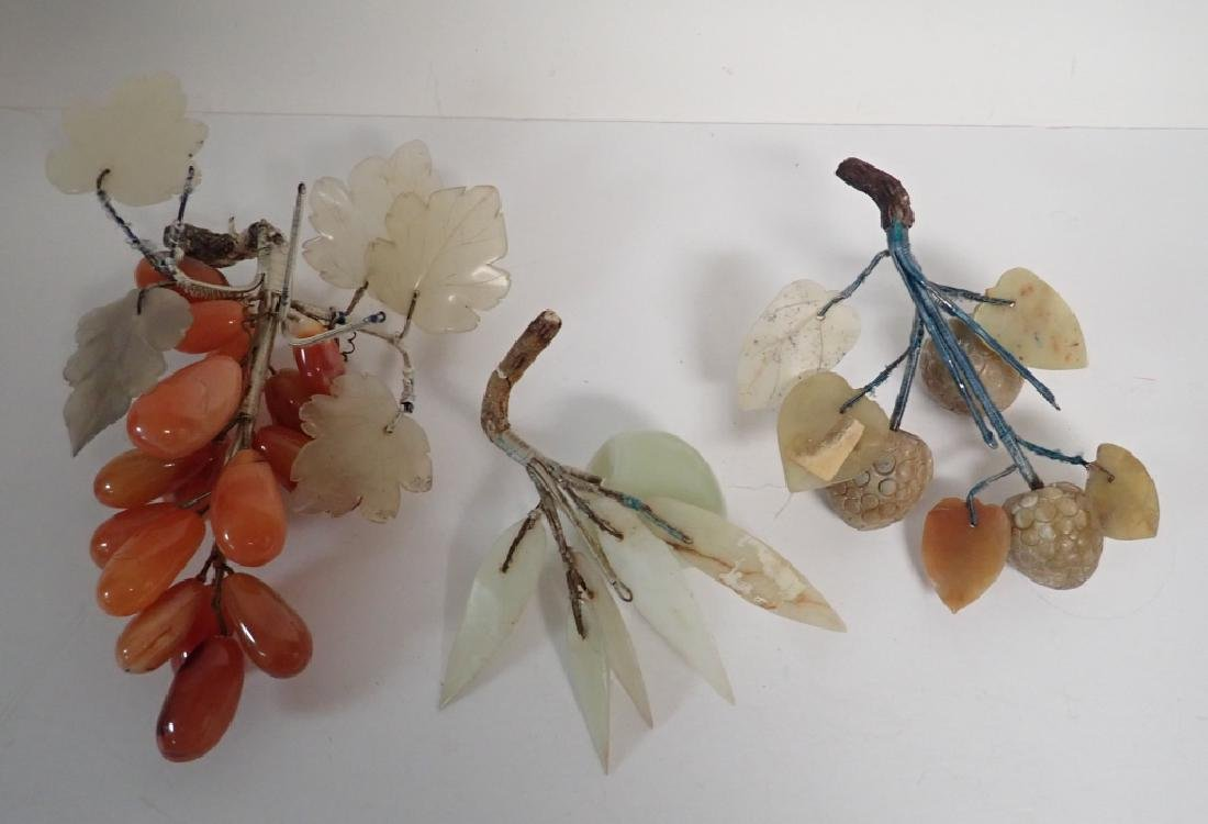 Natural Carved Stone Decorative Fruits - 5