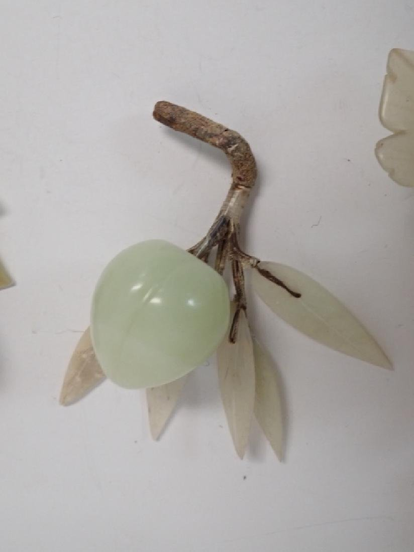Natural Carved Stone Decorative Fruits - 7