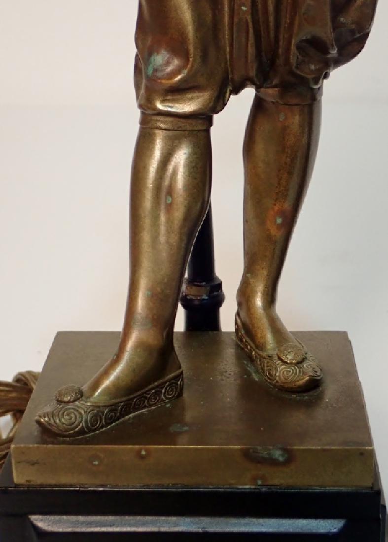 Léon Pilet (1840-1916) Figural Bronze Lamps - 10