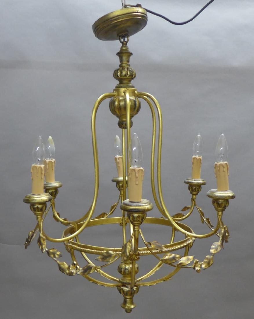 Neoclassical Style Chandelier - 2