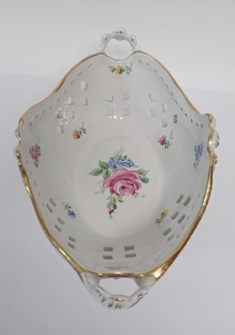 Von Schierholz Porcelain Centerpiece Footed Bowl - 4