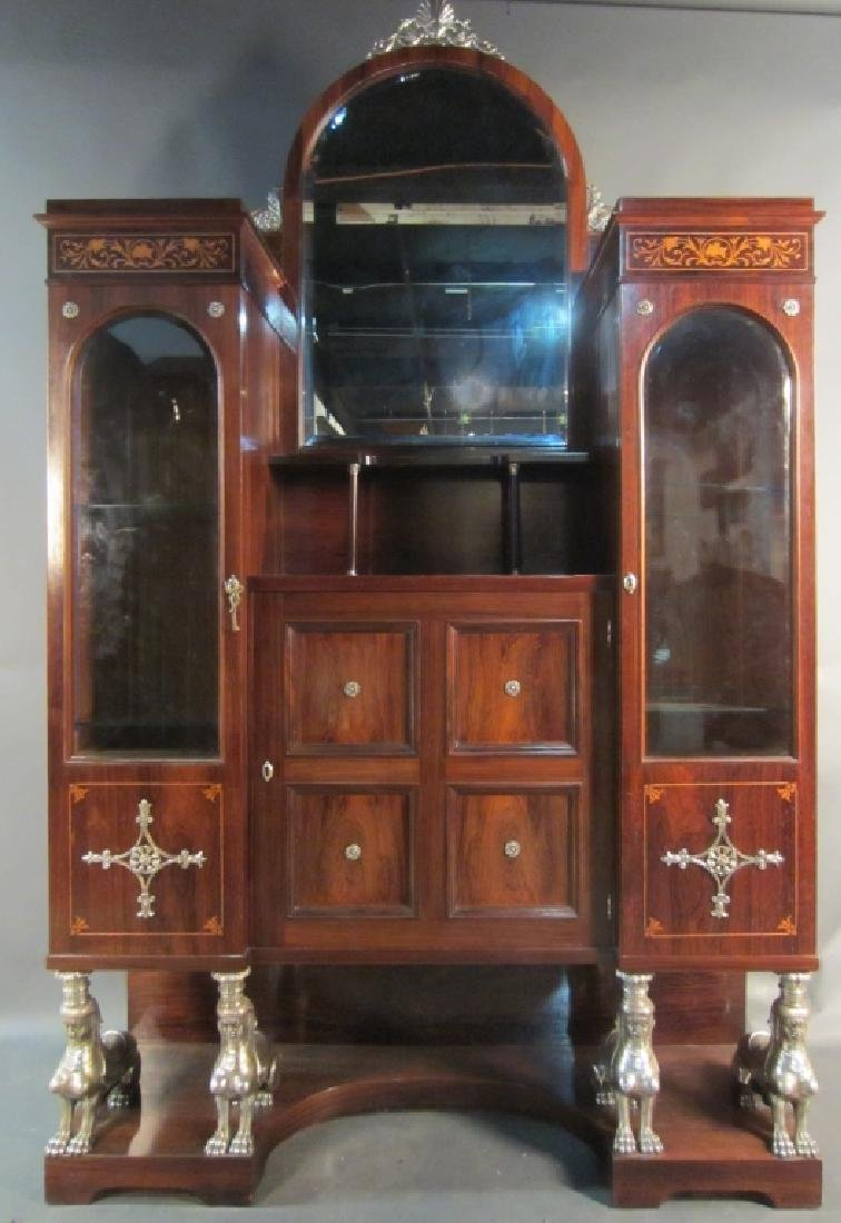 Signed Art Deco Cabinet