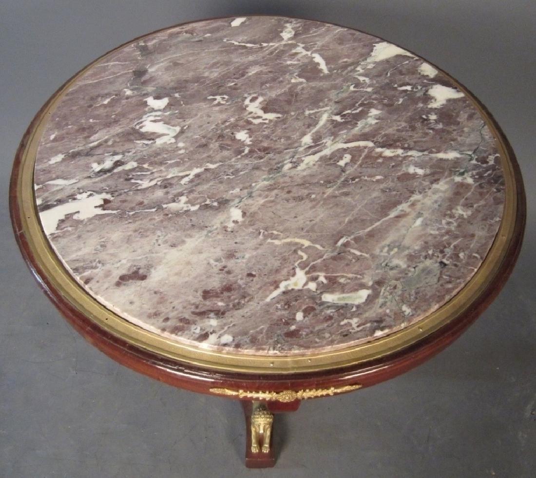 Dore Bronze Mounted Biedermeier Gueridon - 3