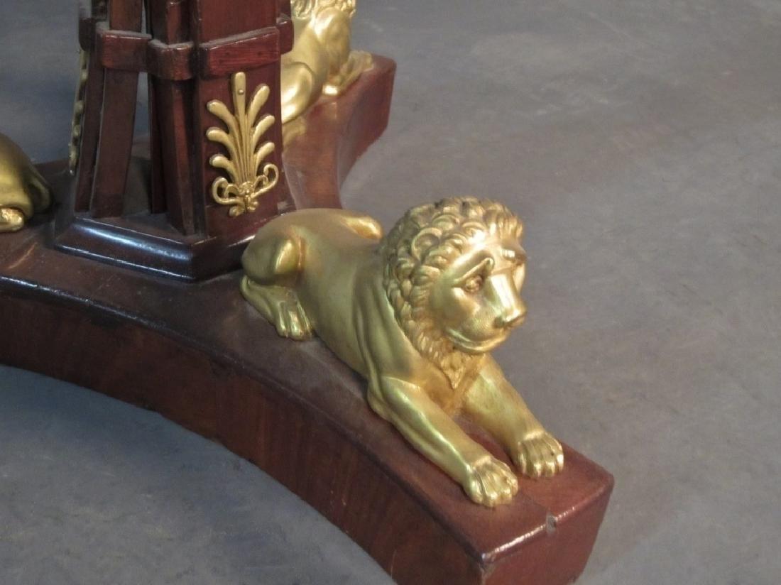 Dore Bronze Mounted Biedermeier Gueridon - 7