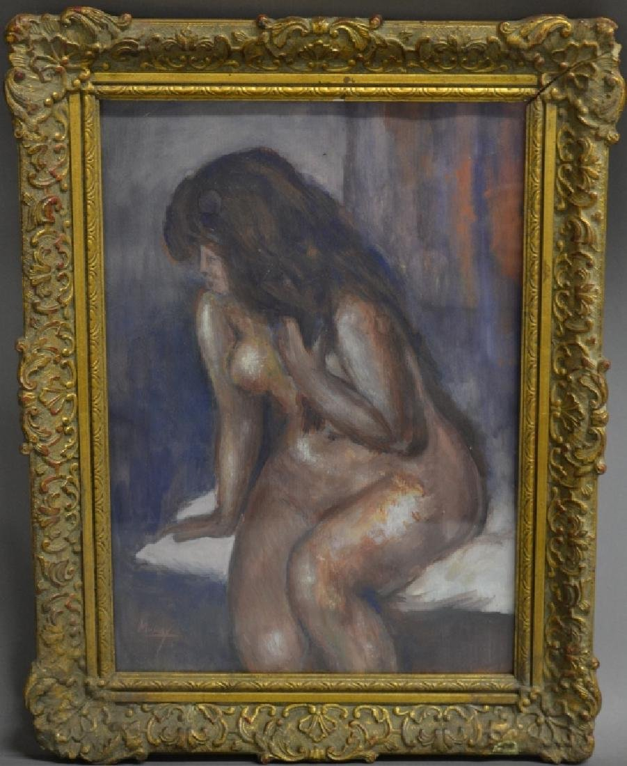 Seated Nude, Signed Murray