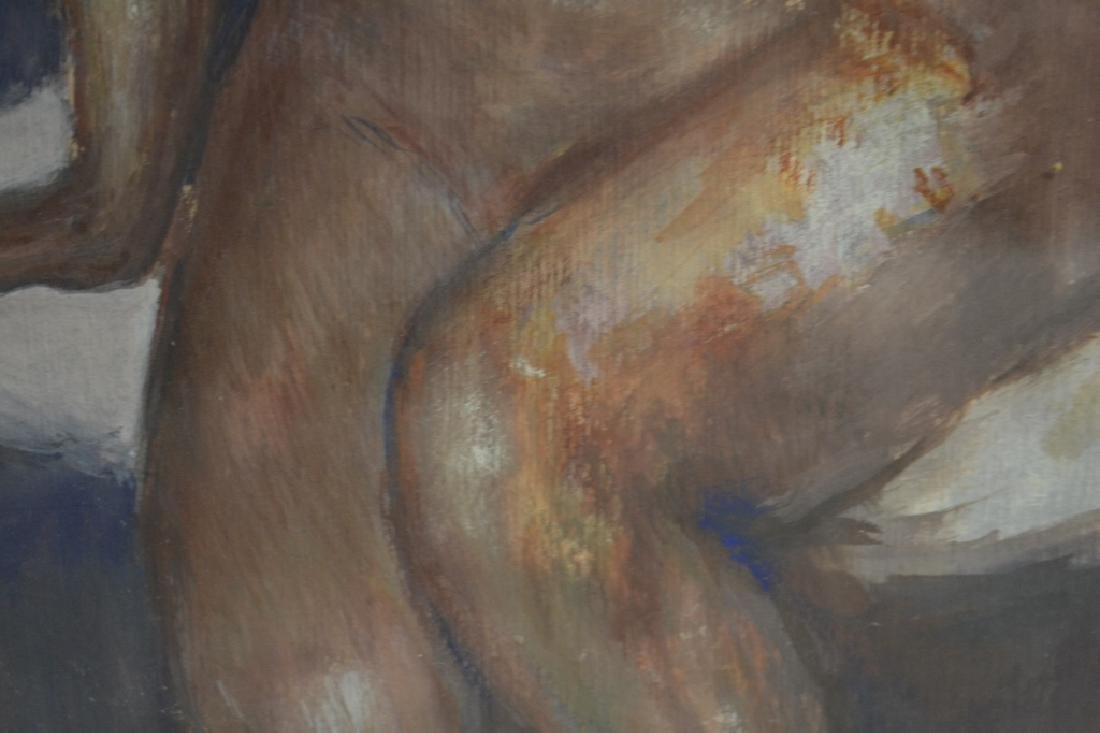 Seated Nude, Signed Murray - 9