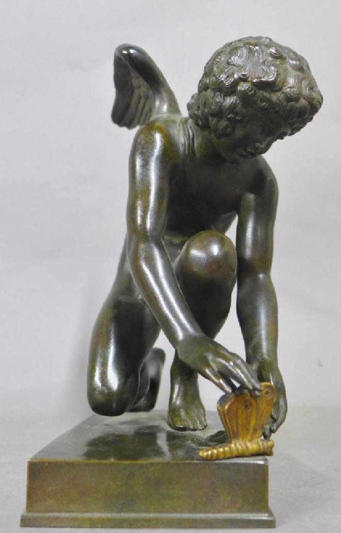 Cupid with Butterfly After Chaudet Bronze - 4