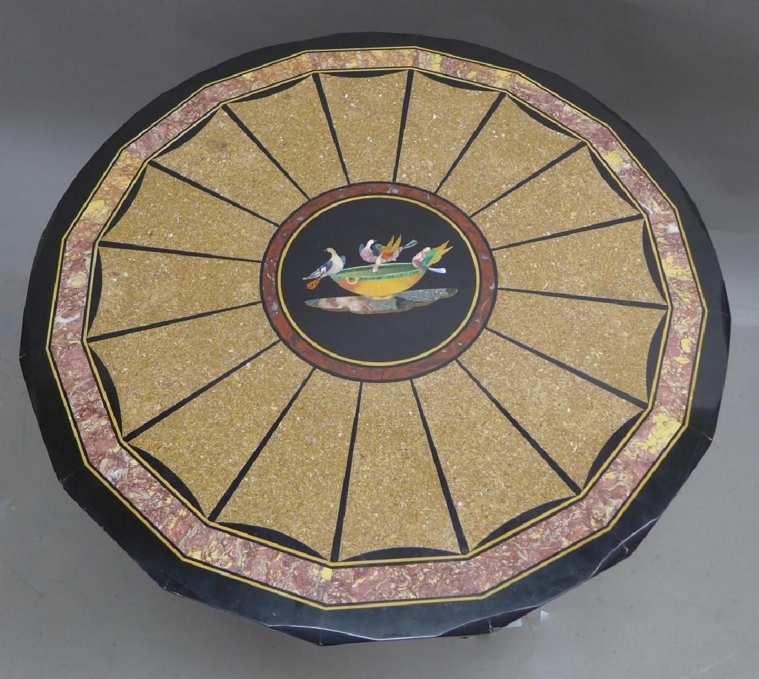 Classical Style Pietra Dura Gueridon, Circa 1890 - 8