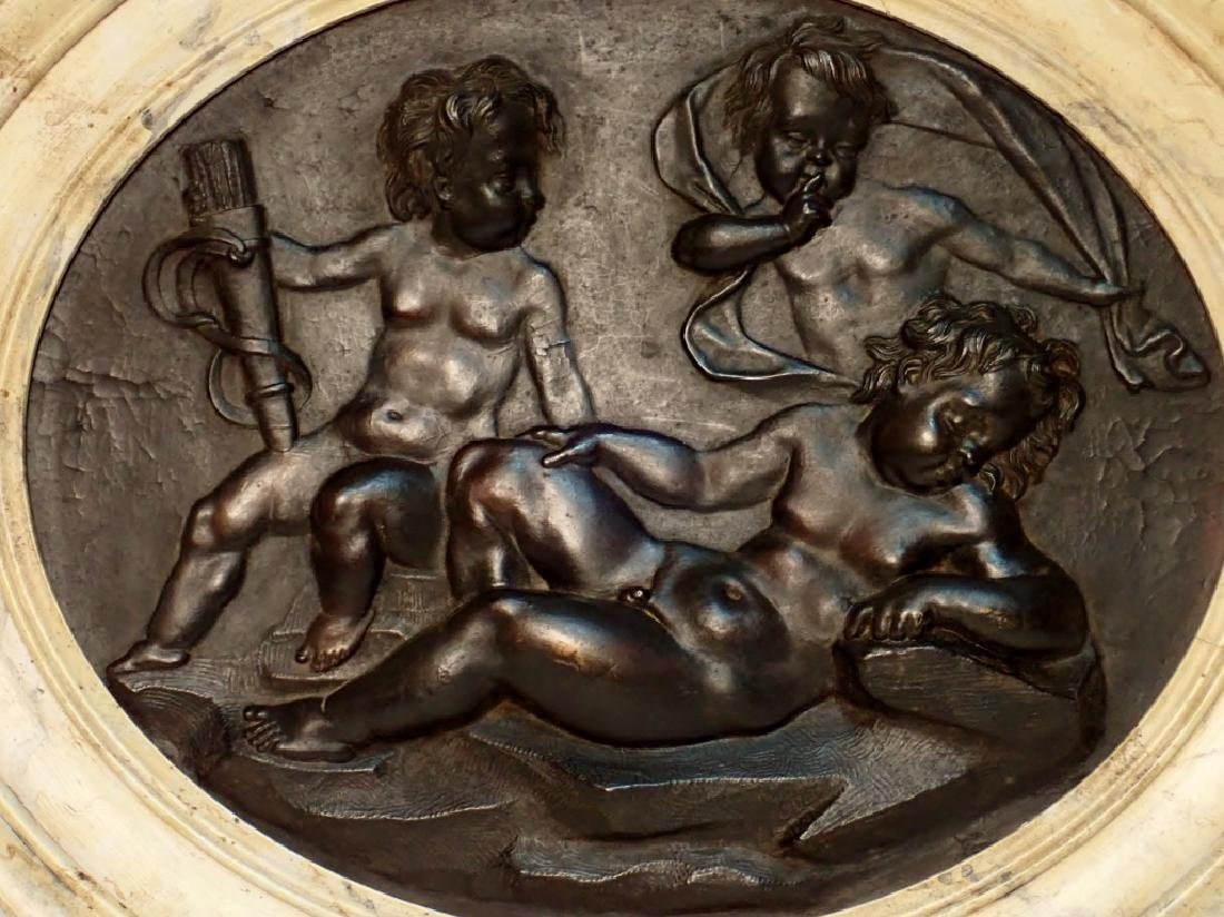 Pair of 19th Century Composition Relief Plaques - 7