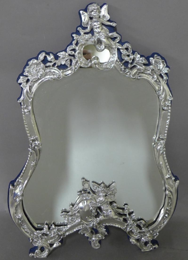Sterling Silver Rococo Mirror