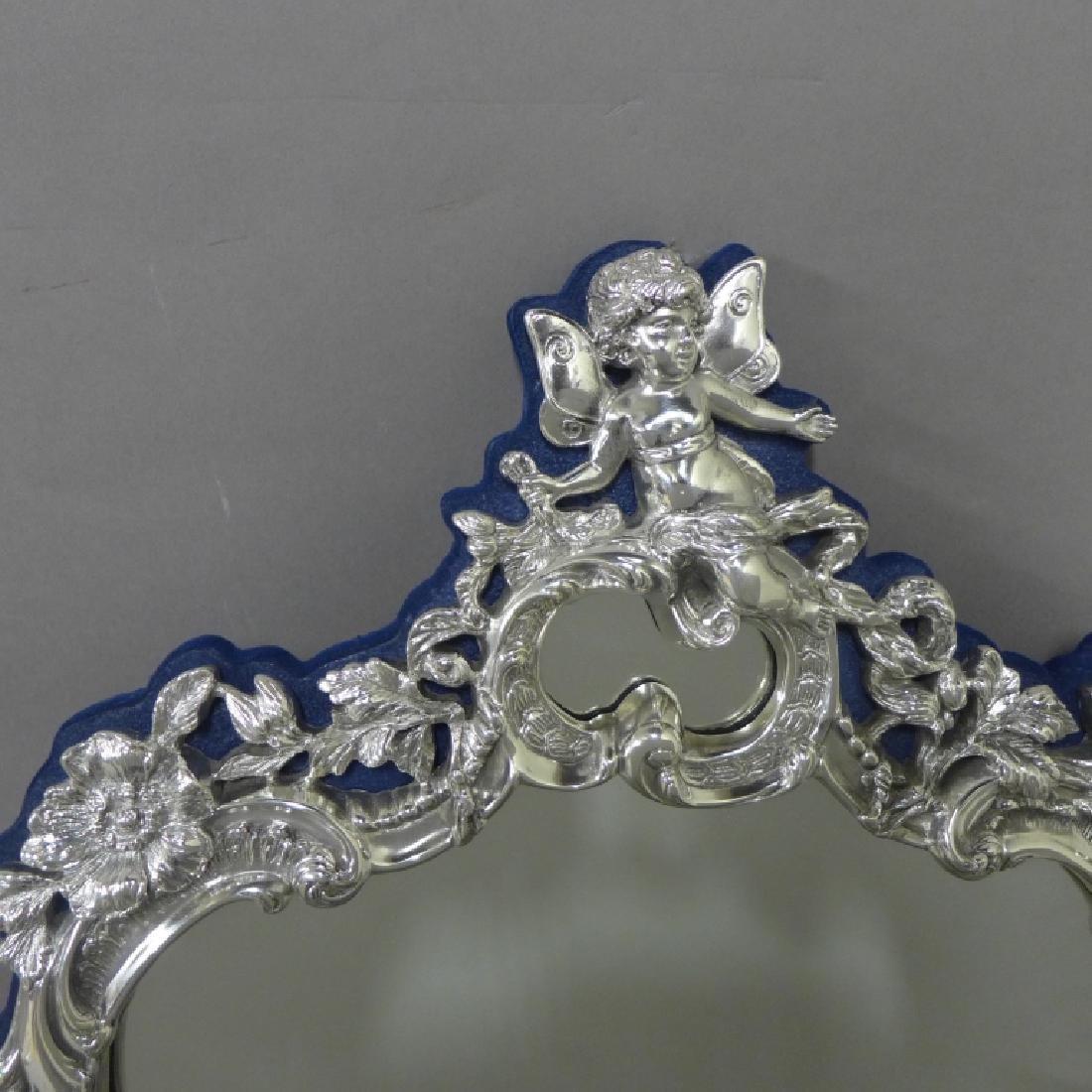 Sterling Silver Rococo Mirror - 3
