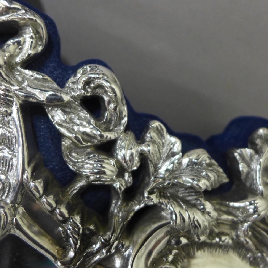 Sterling Silver Rococo Mirror - 6