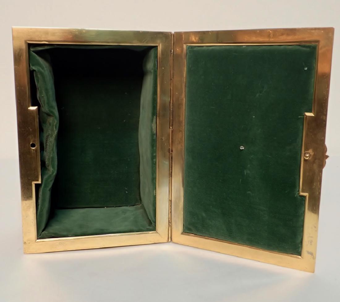 Large 19th Century Dore Bronze Box - 10