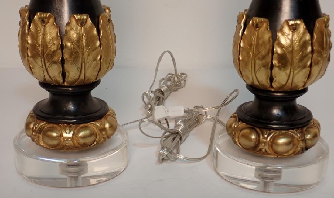 Charles X Style Gilt Bronze Garnitures as Lamps - 10