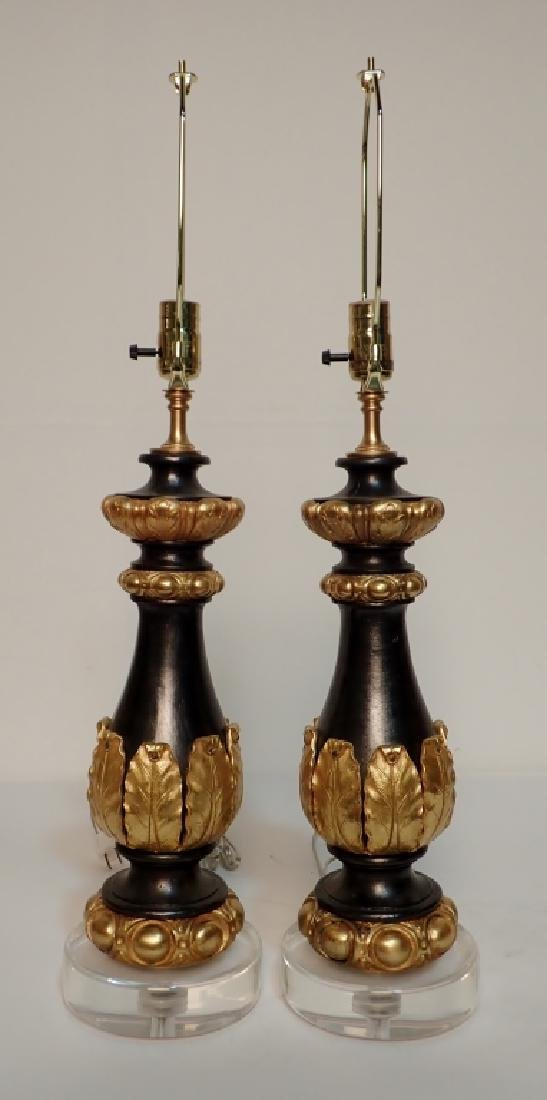 Charles X Style Gilt Bronze Garnitures as Lamps - 4