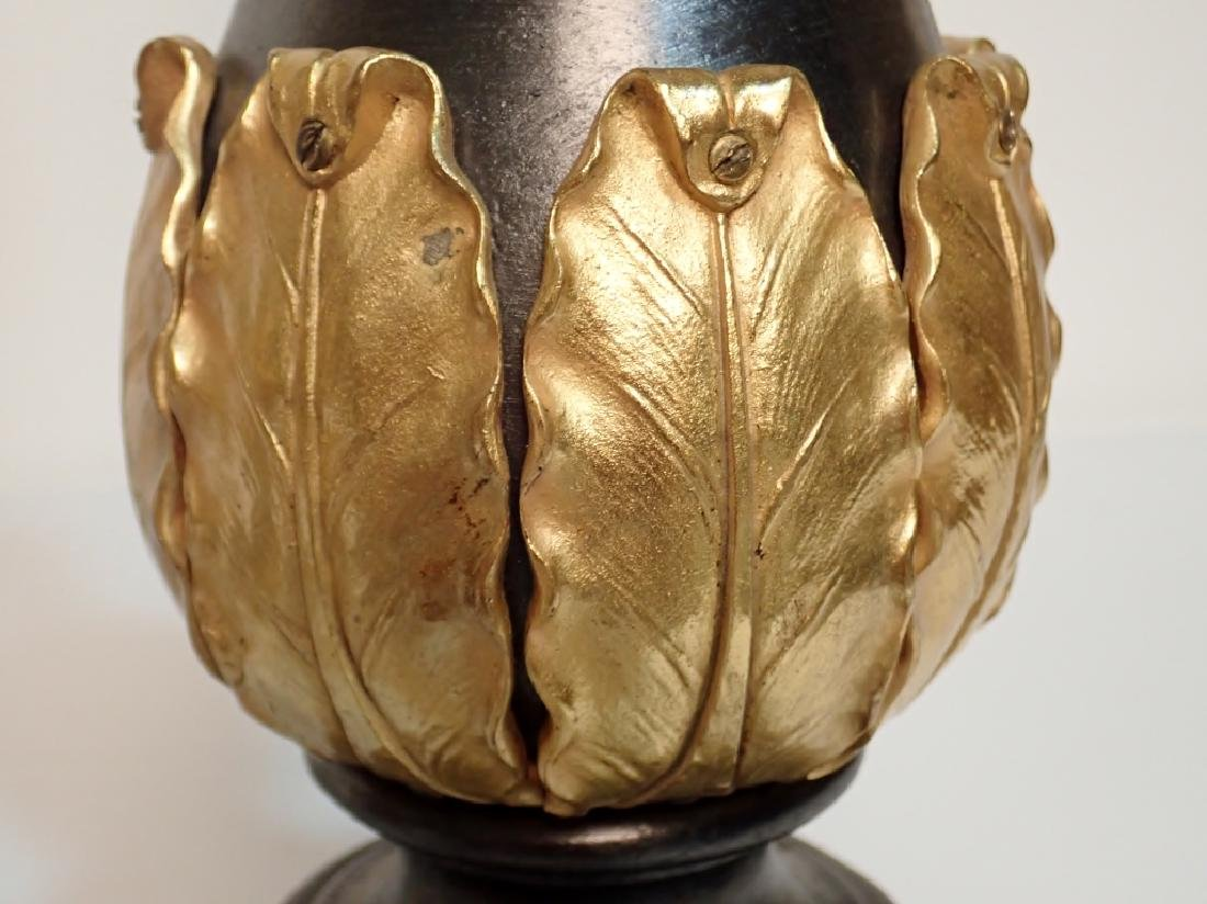 Charles X Style Gilt Bronze Garnitures as Lamps - 8