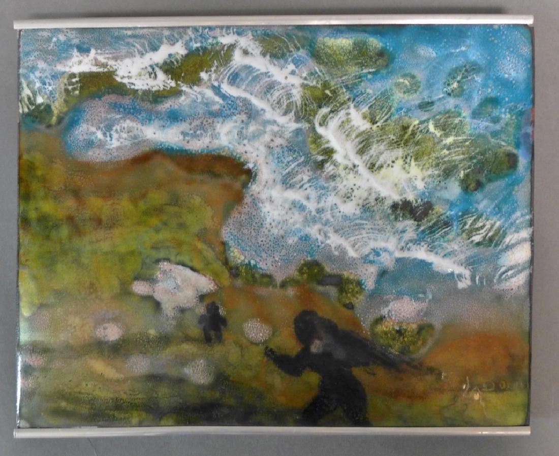 Vitreous Enamel Art Panel