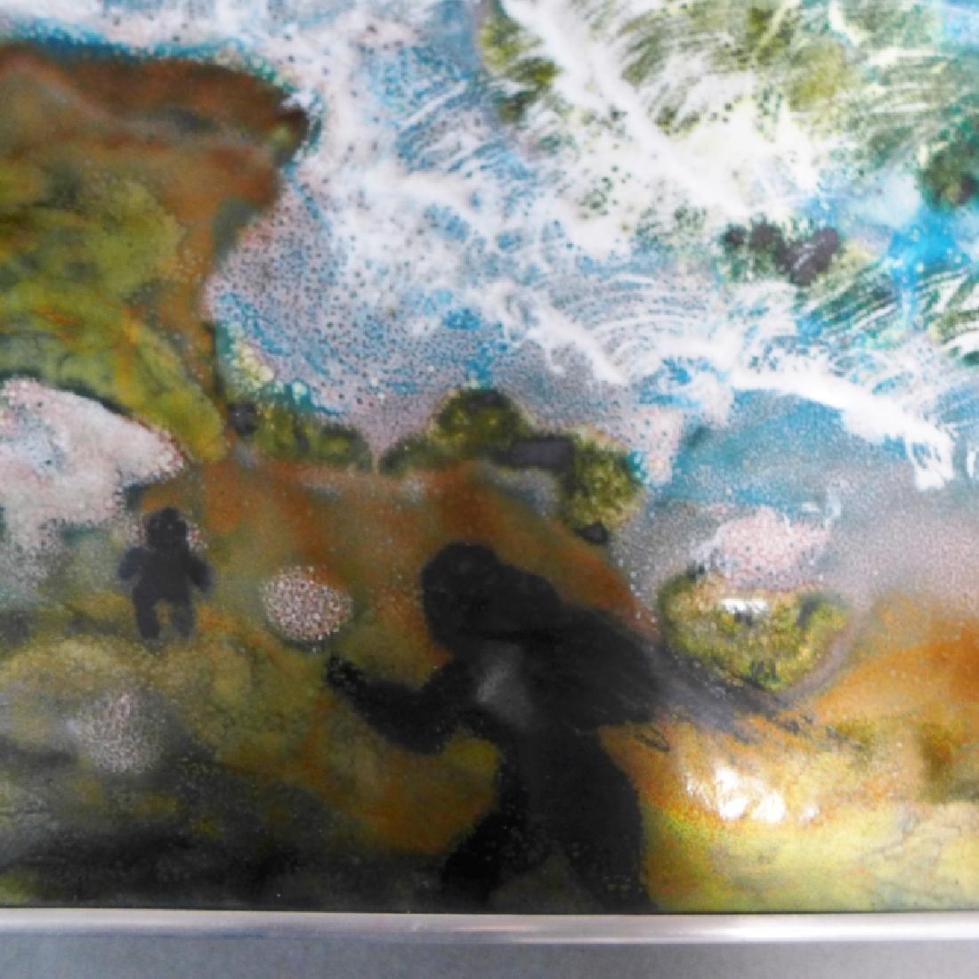 Vitreous Enamel Art Panel - 4