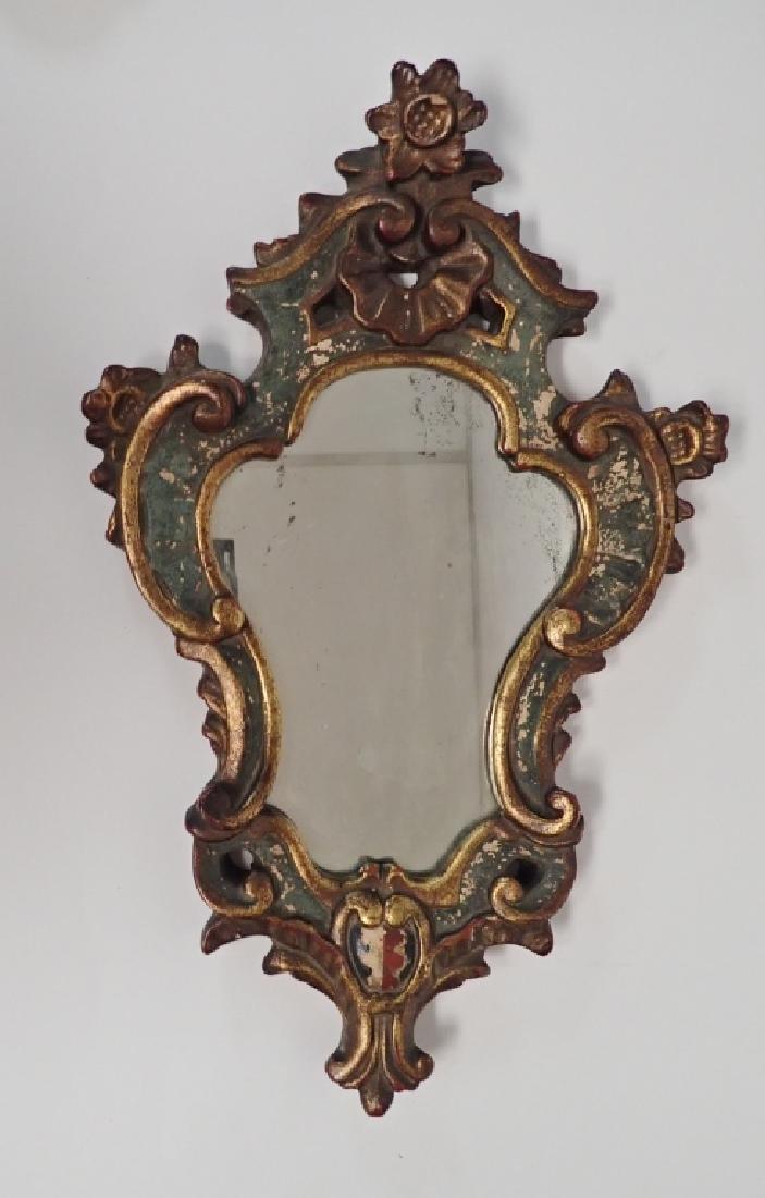 Borghese Cast Plaster Gilt Mirror - 10