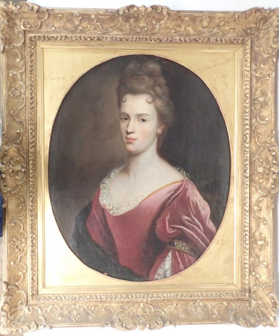 19th Century Framed Portrait of a Woman - 10